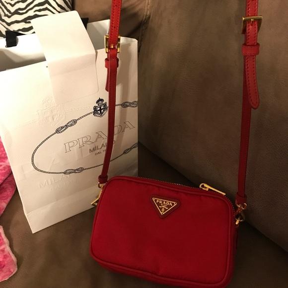 547eaf5b8 Authentic Prada 2way sling wristlet. M 5add82583800c5909988f401. Other Bags  ...